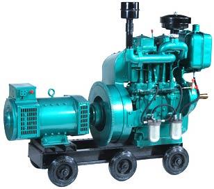 Air Cooled Single Phase Generating Sets 8 to 12 KVA