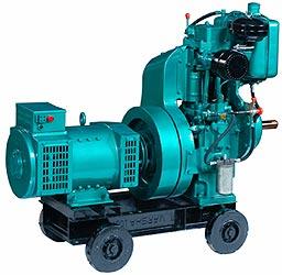 Air Cooled Single Phase Generating Sets  2.2 to 7.5 KVA